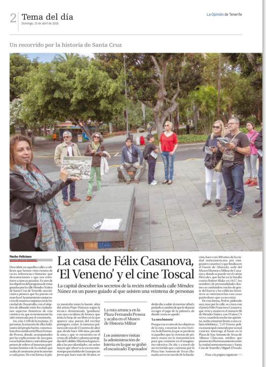Recorrido por méndez Níñez La opinión 1.jpg